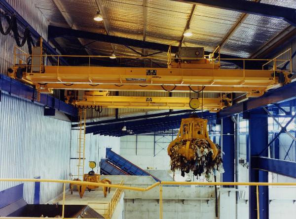 Domestic Waste Overhead Travelling Crane
