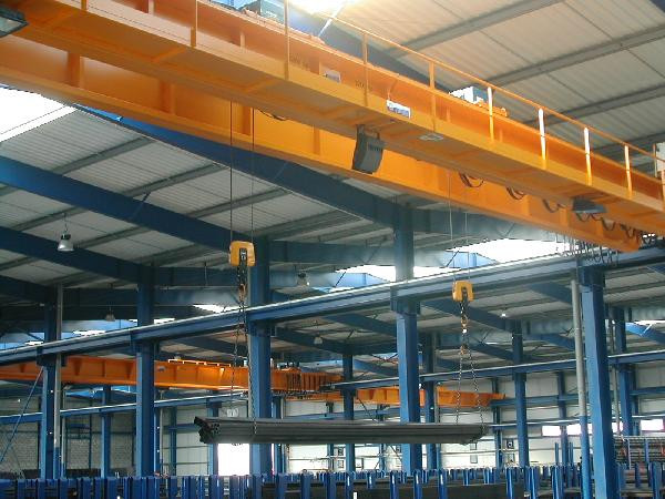 CMI Installed Double Girder Crane